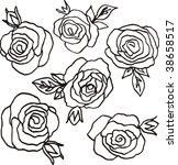 flower | Shutterstock .eps vector #38658517