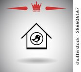 bird house icon.