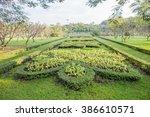 group of sunflower | Shutterstock . vector #386610571