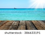 sea shore background | Shutterstock . vector #386633191