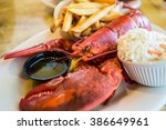 Maine Big Red Lobster Served O...