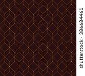 vector seamless pattern. modern ... | Shutterstock .eps vector #386684461