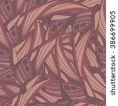seamless pattern with pink... | Shutterstock . vector #386699905