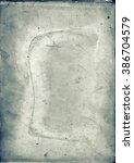 antique glass negative plate | Shutterstock . vector #386704579