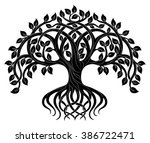 vector ornament  decorative... | Shutterstock .eps vector #386722471