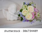 Постер, плакат: Wedding bouquet made of