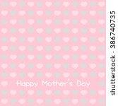 happy mother's day design | Shutterstock .eps vector #386740735