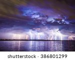A Severe Lightning Storm With...