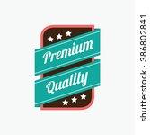 sale badge | Shutterstock .eps vector #386802841