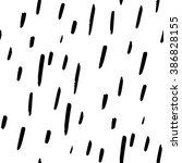 black and white simple confetti ... | Shutterstock .eps vector #386828155