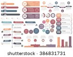 set of infographic elements  ... | Shutterstock .eps vector #386831731