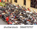 hanoi  vietnam feb 14 2016 top... | Shutterstock . vector #386870707