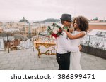 African Wedding Couple Dances...