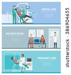 healthcare  doctors and people... | Shutterstock .eps vector #386904655