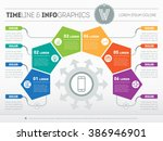 part of the report with logo... | Shutterstock .eps vector #386946901