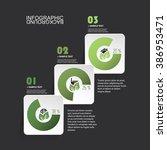minimal paper cut infographics...