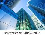 skyscraper office business... | Shutterstock . vector #386962834