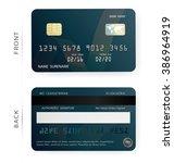 credit debit card design...   Shutterstock .eps vector #386964919