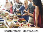 Food Buffet Catering Dining...