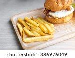 fast food   Shutterstock . vector #386976049