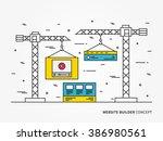 website development vector...
