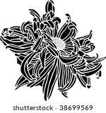 flower print   Shutterstock .eps vector #38699569