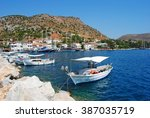 bozburun  turkey july 31.... | Shutterstock . vector #387035719