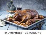 Roast Goose With Potatoes ...