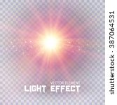 Light Effect On Transparent...