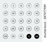 loading  buffering  progress... | Shutterstock .eps vector #387077989