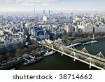 Hungerford Bridge Seen From...