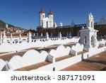 san felipe neri monastery from... | Shutterstock . vector #387171091