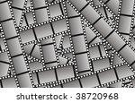 empty filmstrips vector... | Shutterstock .eps vector #38720968