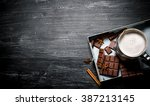 Hot Chocolate With Cinnamon An...