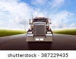 american truck | Shutterstock . vector #387229435