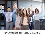 confident businessman standing...   Shutterstock . vector #387246757