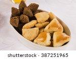 mixed brazilian snack.  | Shutterstock . vector #387251965