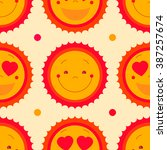 vector seamless pattern...   Shutterstock .eps vector #387257674