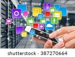 smart phone. | Shutterstock . vector #387270664