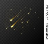 color vector shooting stars... | Shutterstock .eps vector #387276469