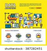 one page data analytics web...