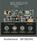 one page data analytics web...