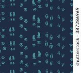 vector seamless pattern... | Shutterstock .eps vector #387286969
