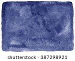 navy blue watercolor stains...   Shutterstock . vector #387298921