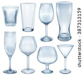 Opaque Empty Glasses And...