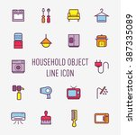 set if household object icon
