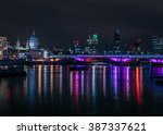 London  Night View With...