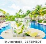 mojito. | Shutterstock . vector #387354805