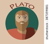 ancient greek scientist ...   Shutterstock .eps vector #387359881