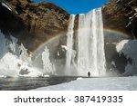 Winter Landscape  Tourist By...